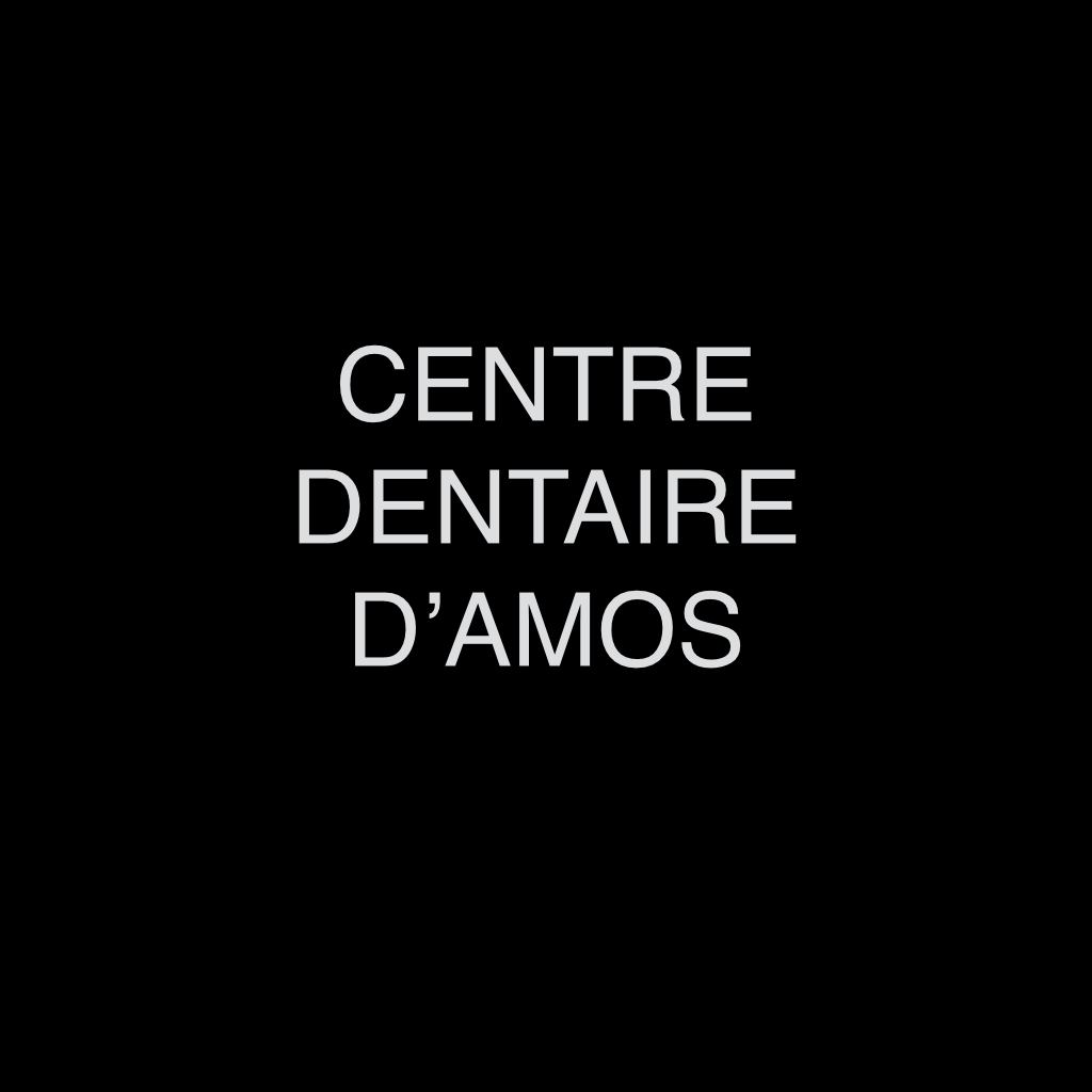 A Go Partner logos on black square.Centre Dentaire d'Amos