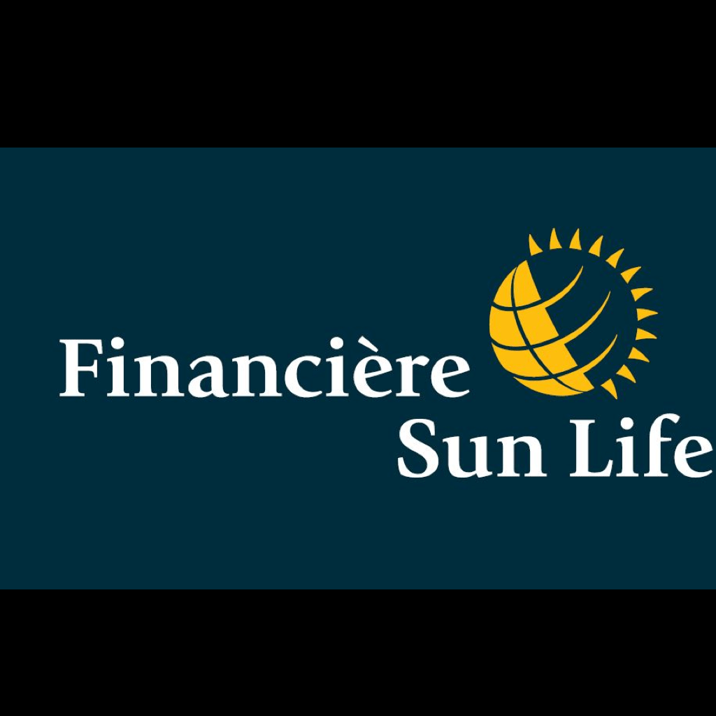 A Go Partner logos on black square.Financière Sun Life