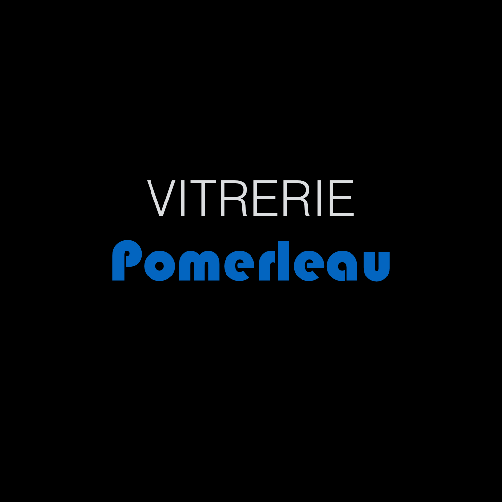 A Go Partner logos on black square.Vitrerie Pomerleau