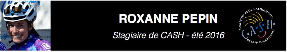CASH stagiaire – Roxanne Pepin