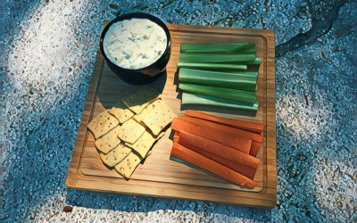 Tamago & Tofu Tartinade