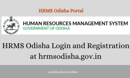 HRMS Odisha Login and Registration at hrmsodisha.gov.in