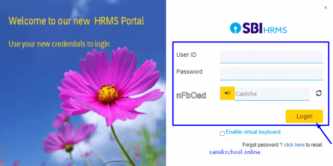 How to login at SBI HRMS Login Portal Online?