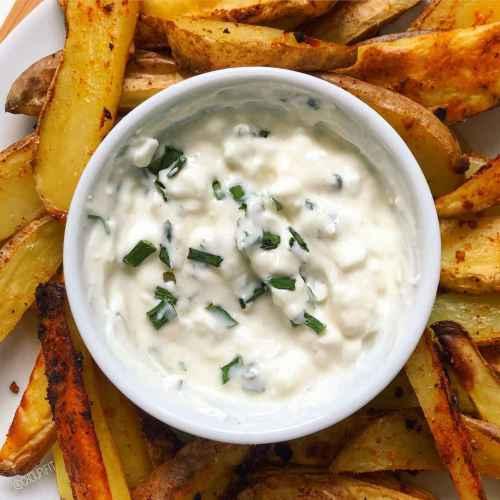 Sauce potatoes (creamy deluxe) maison allégée sans matière grasse