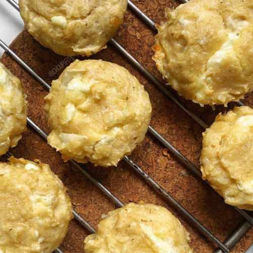 Muffins salés light au fromage