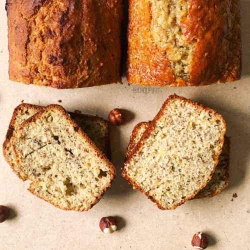 Cake aux noisettes sans beurre