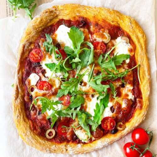 Pâte à pizza healthy à la courge butternut