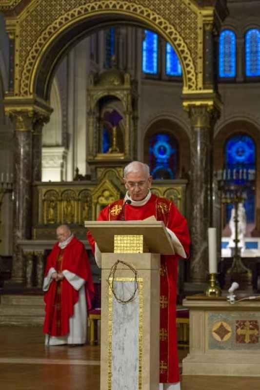 Andre MAILLARD diacre à Saint Ambroise
