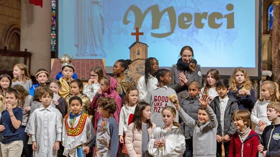 Catéchisme à Saint-Ambroise