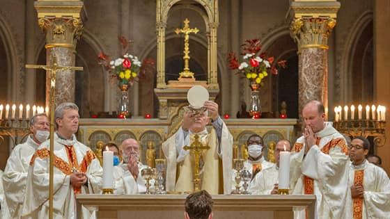 Offrande pour une messe