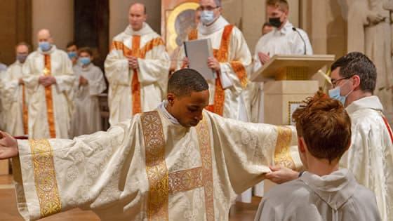 Sacrement de l'ordre, Ordination de Kevin Anastase