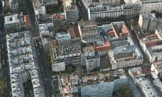 Maison du Sept de Saint-Ambroise, vue aérienne