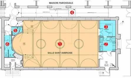 Petit Plan Salle de Saint-Ambroise
