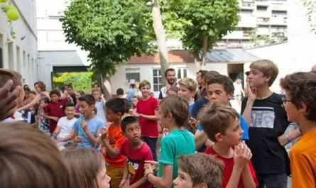 Photo de la fête de la joie à la maison du Sept de Saint-Ambroise