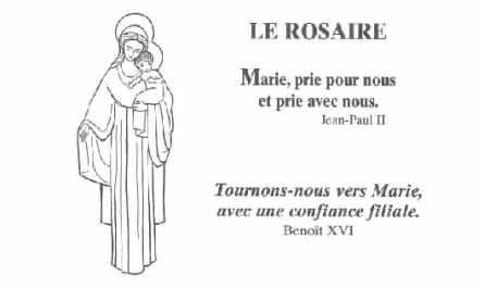rosaire des adultes