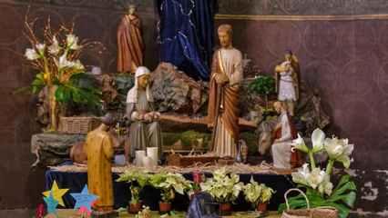 Photo de la crèche de Noël de Saint-Ambroise