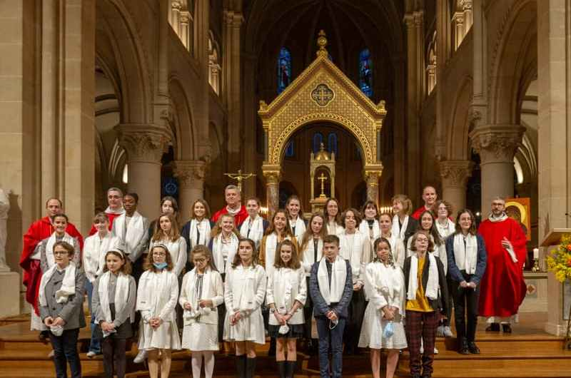 Confirmation, photos du 30/01/2021