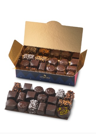 chocolats noirs ballotin