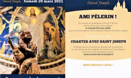 marche saint Joseph 2021