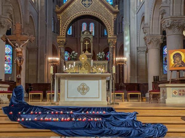 Journée du Pardon, adoration Christ