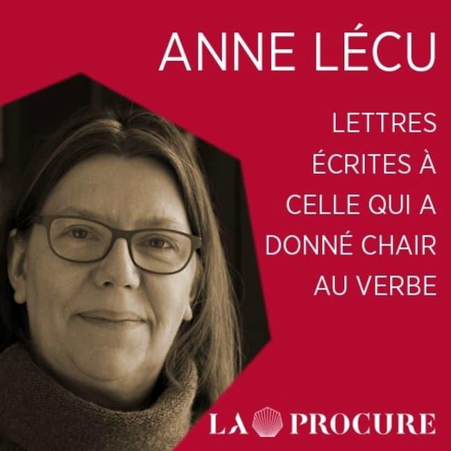 Anne Lécu, sœur dominicaine