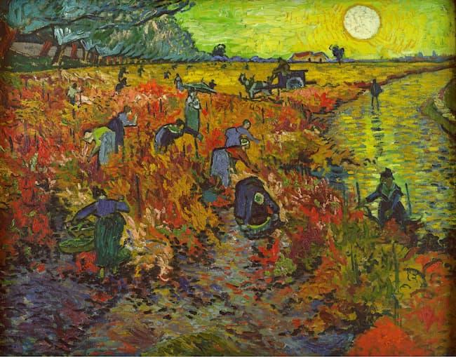 La Vigne rouge de Vincent van Gogh