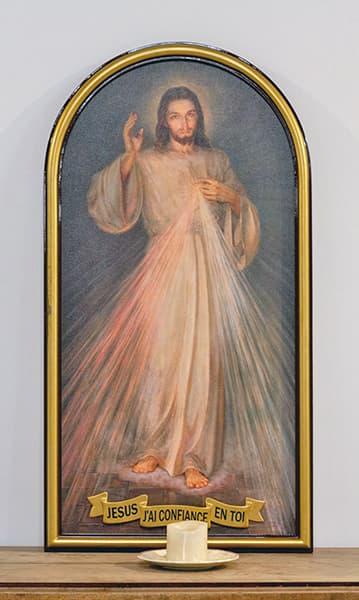christ miséricorde tableau
