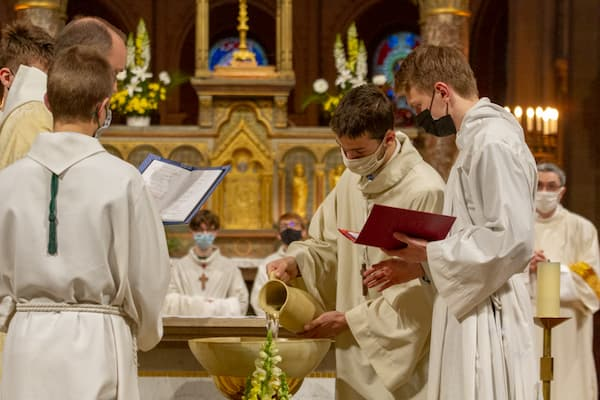 Vigile pascale 2021 baptême