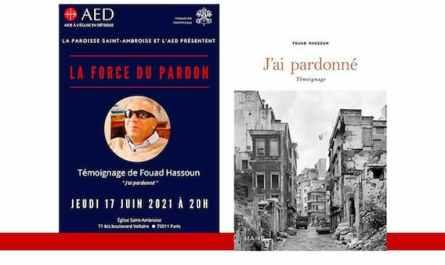 Conférence sur La Force du Pardon à Saint Ambroise
