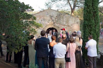 Mariage de Flora et Guillaume - Sortie de Chapelle - 2016.