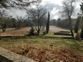 Vue Sud depuis la terrasse XIXe - Janvier 2018