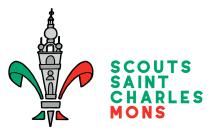 Logo de l'Unité Scoute Saint-Charles Mons