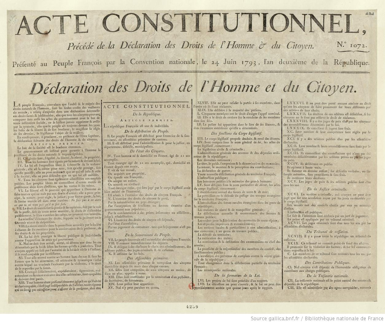 DECLARATION DE 1789 PDF
