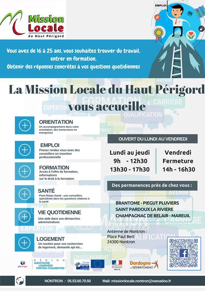 Mission locale du haut p rigord saint martial de valette - Mission locale portes de provence ...