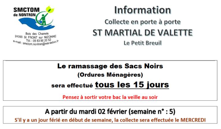 info collecte en porte à porte – ST MARTIAL pdf