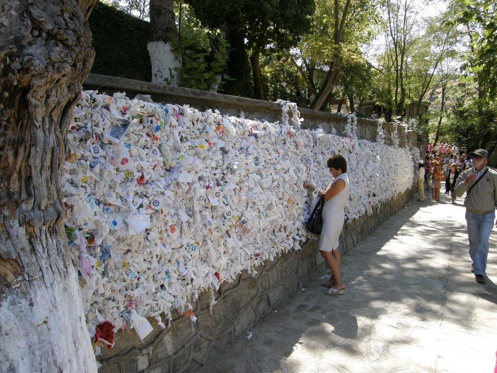Le mur des vœux