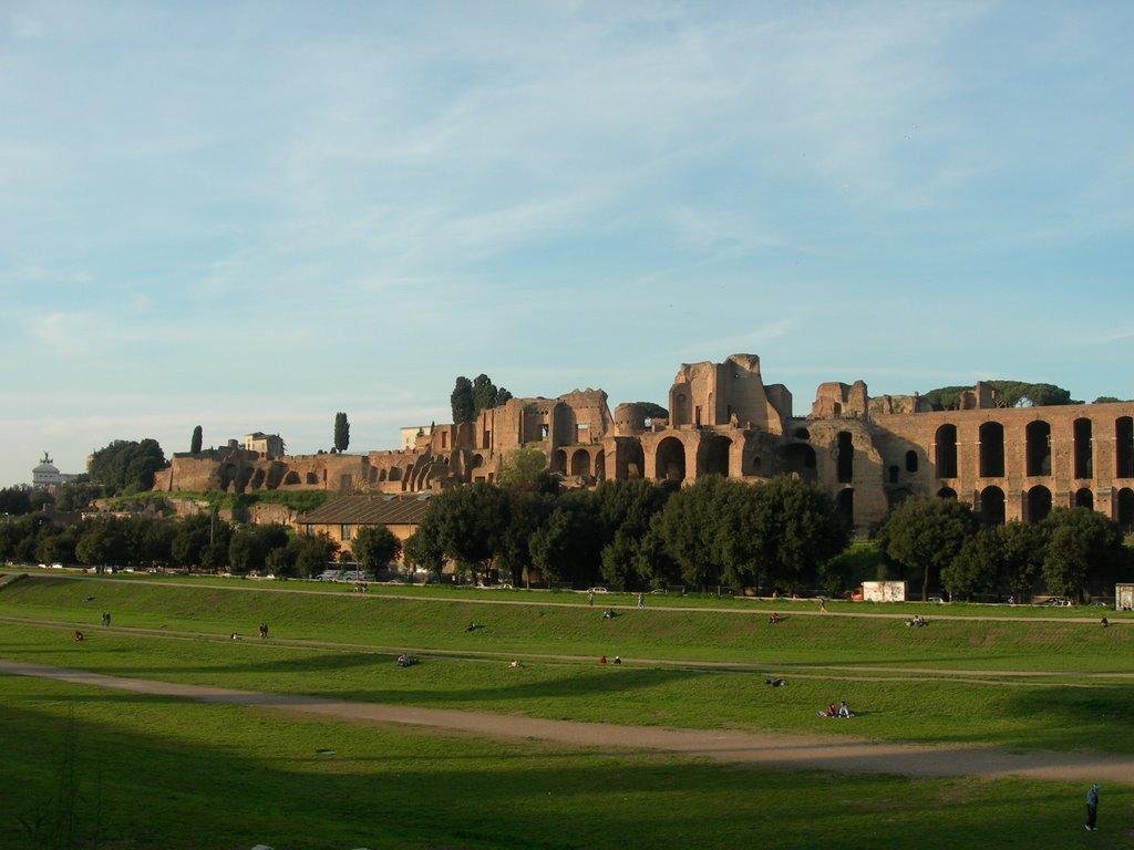 Cirque Maxime et palais impériaux