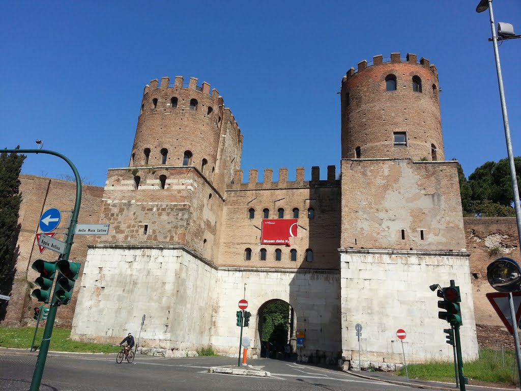 Porte Appia ou porte St Sébastien