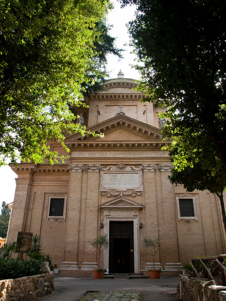 L'église du martyre de St Paul