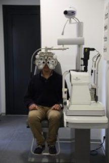 Salle d'examen de vue
