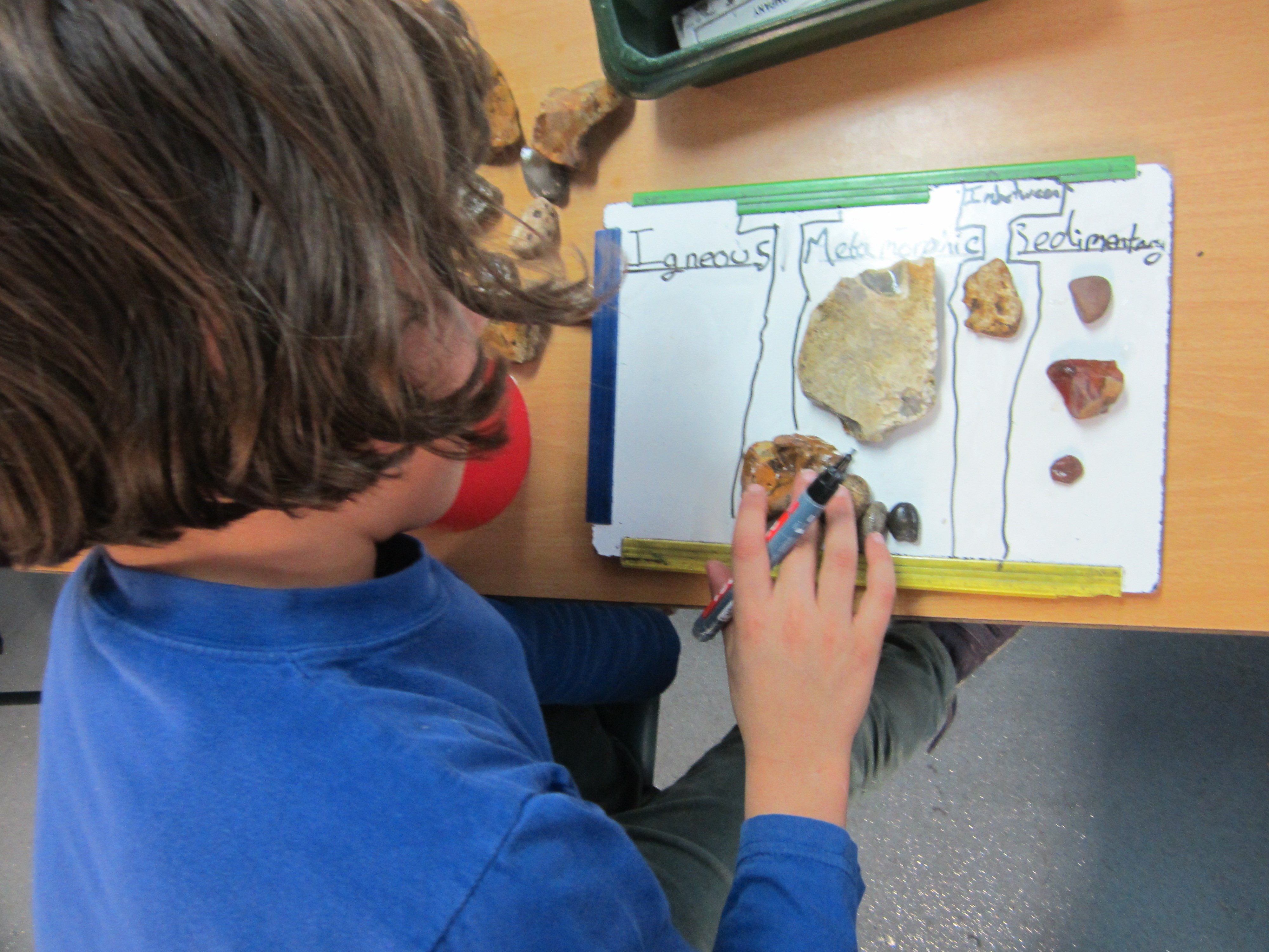 Sorting And Classifying Our Rocks