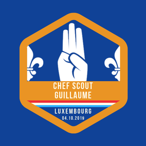 Chef Guillaume Scout Promise – 04.10.2019
