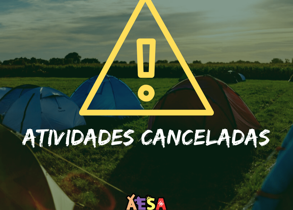 Activities canceled due to COVID-19