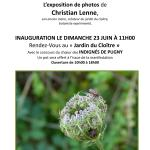 L'exposition de photos de Christian Lenne