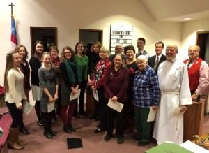 Choir Christmas Eve 2015