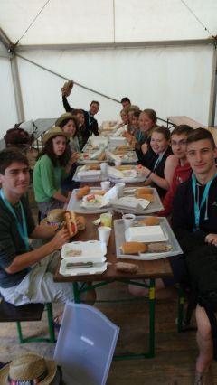 Petit déjeuner à Czestochowa