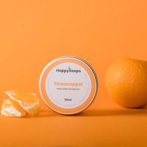 happysoaps deodorant sinaasappel