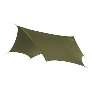 eno dryfly rain tarp groen