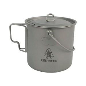 Pathfinder Titanium pan Bushpot