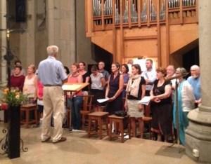 La chorale est fin prête pour ce dimanche 18 septembre !
